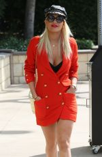 RITA ORA Out and About in West Hollywood 08/06/2015