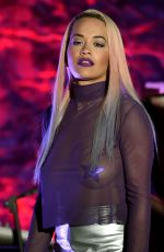RITA ORA Performs at El Rey Theatre in Los Angeles 06/27/2015