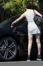 ROSE MCGOWAN Out and About in West Hollywood 08/16/2015