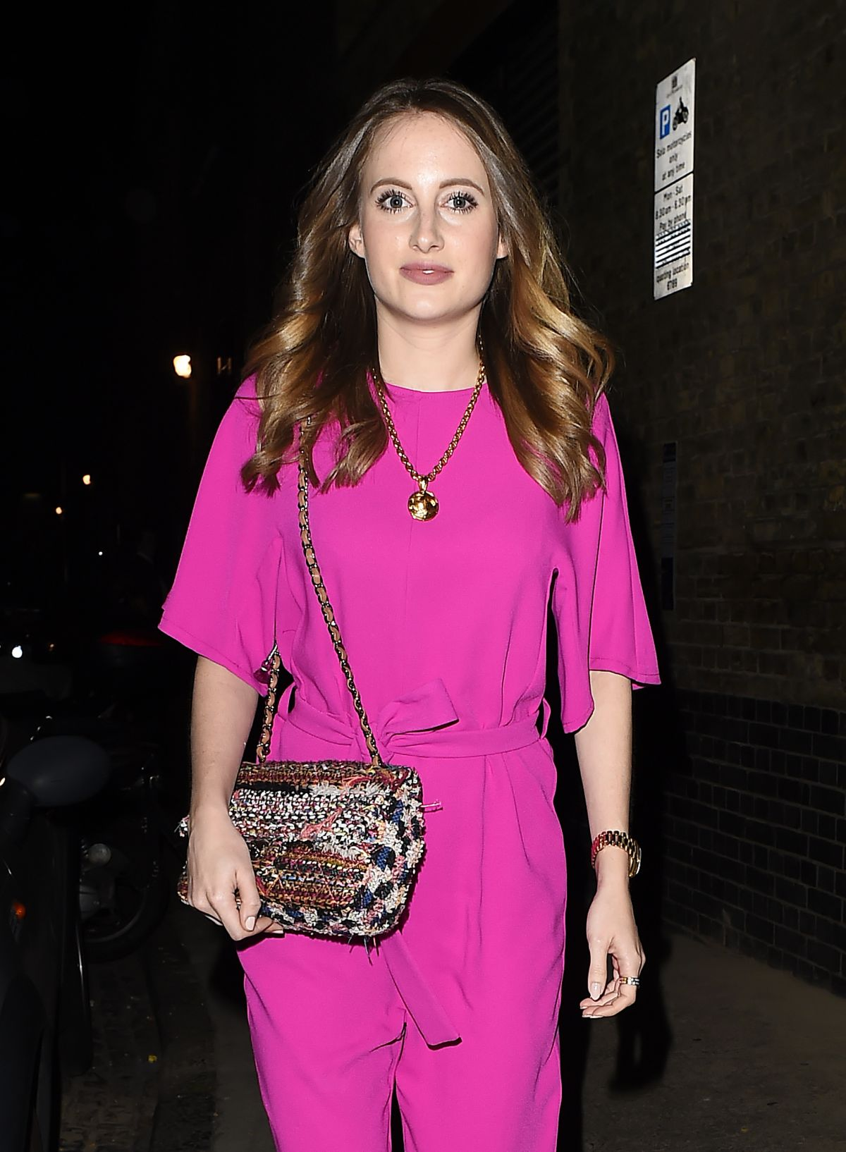 ROSIE FORTESCUE Arrives at Chiltern Firehouse in London 07/31/2015