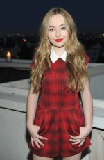 SABRINA CARPENTER at Teen Vouge Dinner Party in Los Angeles 08/05/2015