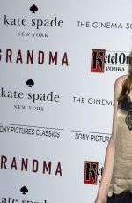 SAFFRON BURROWS at Grandma Screening in New York