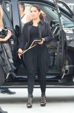 SALMA HAYEK Arrives at Taylor Swift Live Performs in Los Angeles