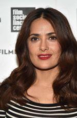 SALMA HAYEK at 2015 Film Society of Lincoln Center Summer Talks in New York