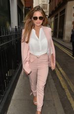 SAM FAIERS Arrives at a Business Meetings in Mayfair 07/29/2015