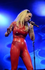 SARAH HARDING Performs at Manchester Pride in Manchester 08/29/2015