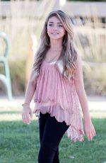 SARAH HYLAND on the Set of Modern Family in Santa Monica 08/07/2015