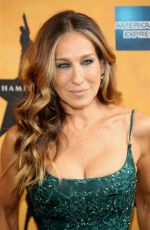 SARAH JESSICA PARKER at Hamilton Opening on Broadway in New York