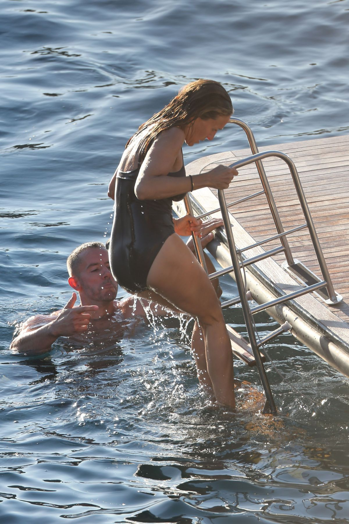 Sarah Jessica Parker In Swimsuit At A Boat Ibiza 08 26 2017