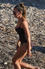 SARAH JESSICA PARKER in Swimsuit at a Boat in Ibiza 08/26/2015