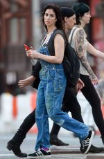 SARAH SILVERMAN Out and About in New York 08/23/2015