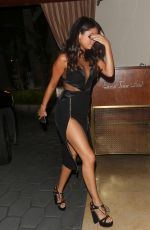 SELENA GOMEZ Arrives at Sunset Tower Hotel in Los Angeles 08/30/2015