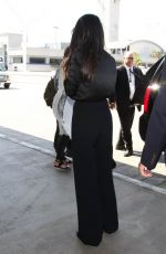 SELENA GOMEZ at LAX Airport in Los Angeles 08/18/2015