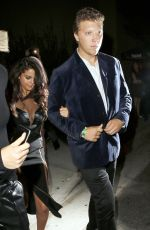 SELENA GOMEZ Leaves Republic Records VMA Afterparty in West Hollywood