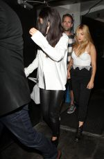 SELENA GOMEZ Night Out in West Hollywood 08/13/2015