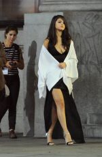 SELENA GOMEZ on the Set of Same Old Love Music Video in Los Angeles 08/15/2015