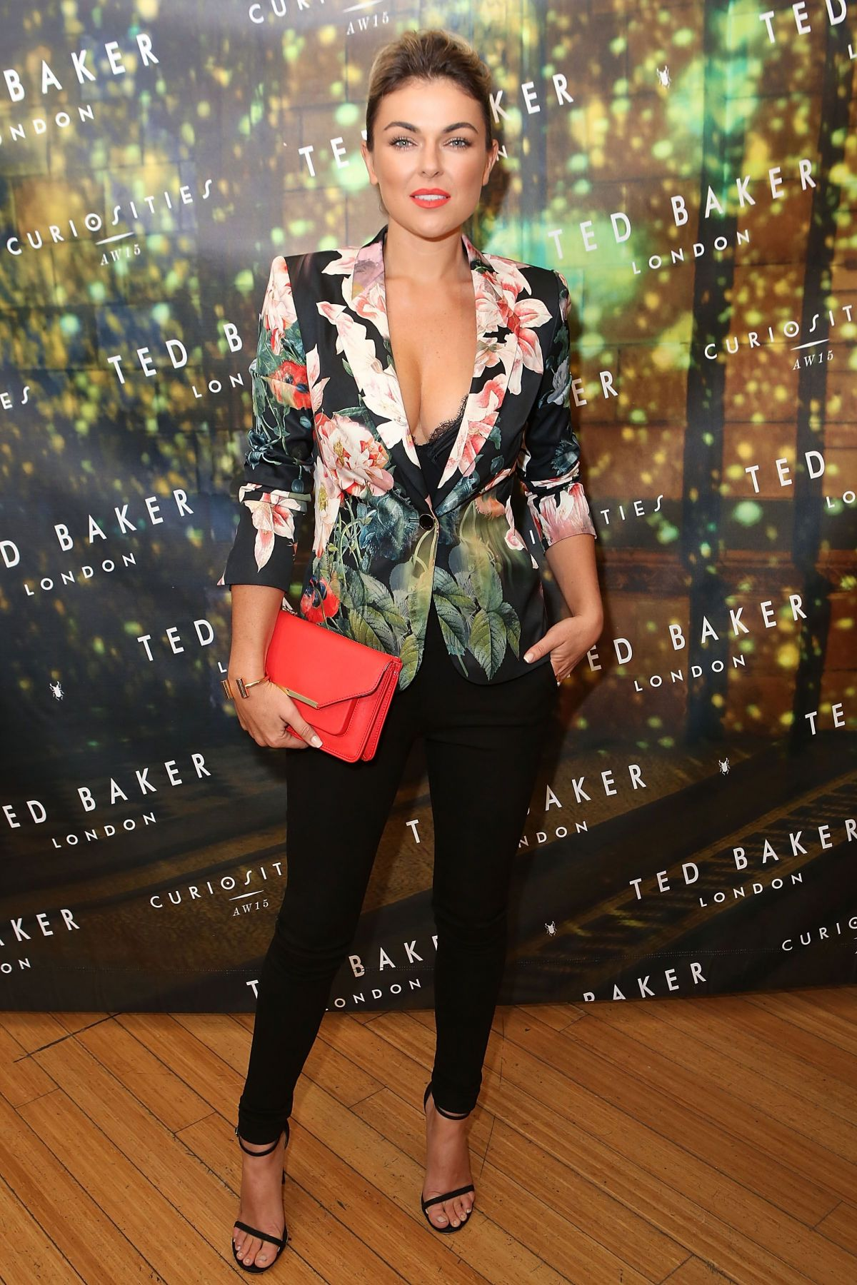 SERINDA SWAN at Ted Baker London Launch Party in Los ...