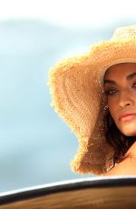 SHANINA SHAIK in Bikinis on the Set of a Photoshooot for Kookai in New South Wales 08/21/2015