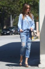 SOFIA VERGARA Heading to a Nail Salon in Beverly Hills 07/28/2015