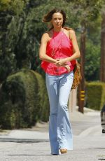 STACY KEIBLER in Jeans Out and About in Burbank 08/26/2015