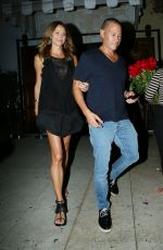 STACY KEIBLER Night Out in Hollywood 08/28/2015