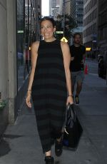 STACY LONDON Arrives at Today Show in New York