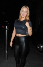 STEPHAIE WARING Night Out in Manchester 08/26/2015