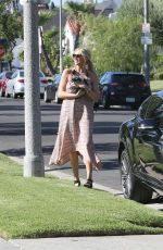 STEPHANIE PRATT Out with Her Dog in Beverly Hills 07/30/2015