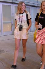 SUKI WATERHOUSE Arrives at Taylor Swift Concert in Los Angeles