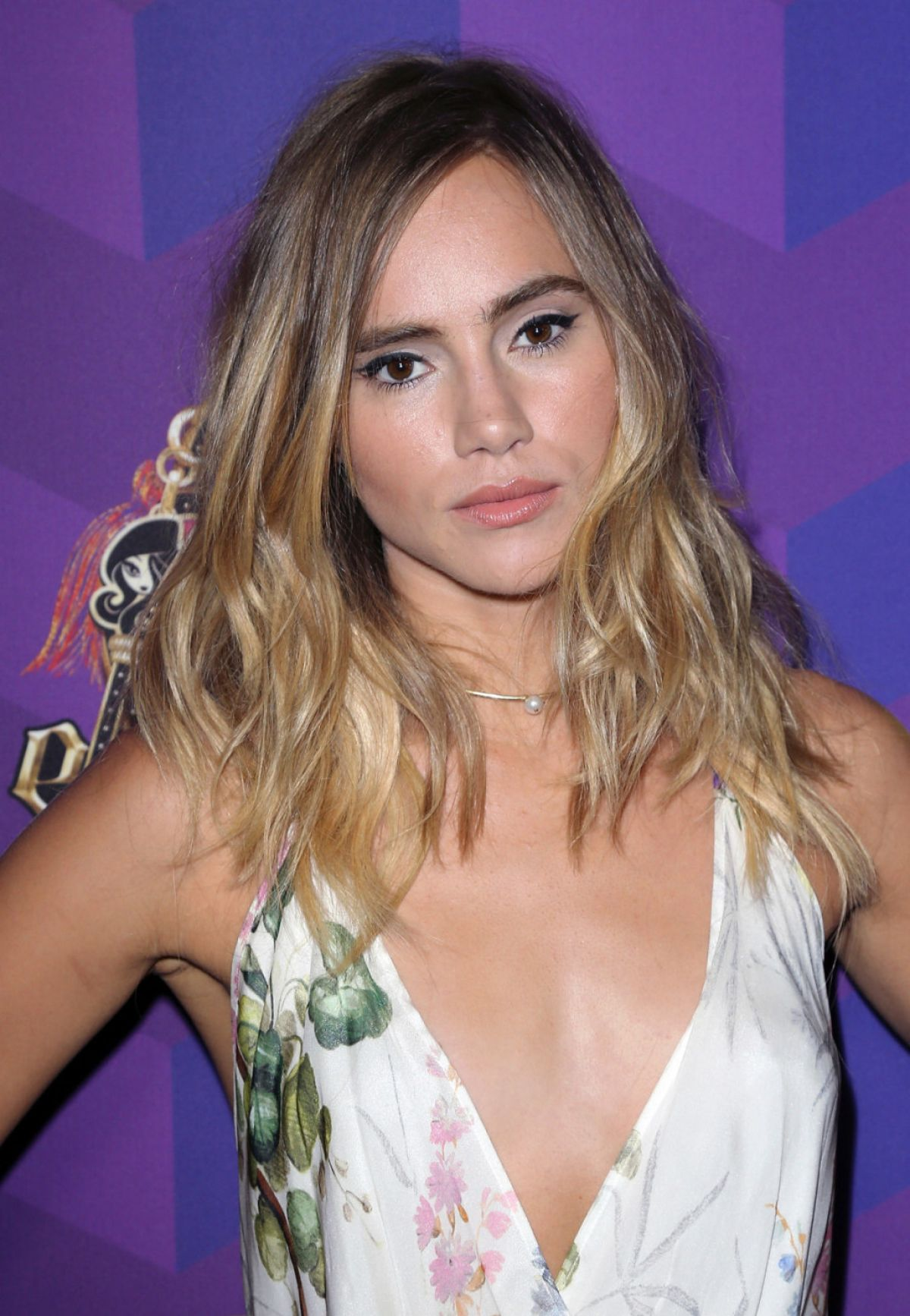 SUKI WATERHOUSE at Just Jared's Way To Wonderland Party in West Hollywood