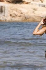 SYLVIE MEIS in Bikini on the Set of a Photoshoot in Ibiza 04/08/2015