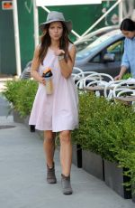 TAMMIN SURSOK Out and About in New York 08/24/2015
