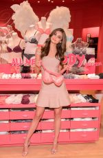 TAYLOR MARIE HILL at Kicks-off the Body by Victoria Launch Tour