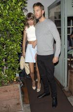 TAYLOR SWIFT Leaves Giorgio Baldi Restaurant in Santa Monica 08/11/2015