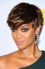 TYRA BANKS at Disney ABC 2015 Summer TCA Tour in Beverly Hills