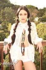 VANESSA HUDGENS at Beauty Coach Photoshoot