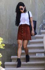 VANESSA HUDGENS Leaves Her Home in Studio City 08/29/2015