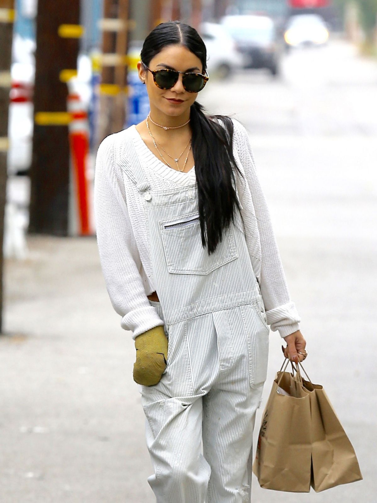 VANESSA HUDGENS Out and About in Studio City 08/21/2015