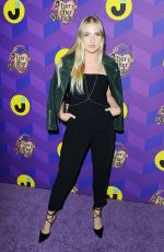 VERONICA DUNNE at Just Jared's Way To Wonderland Party in West Hollywood