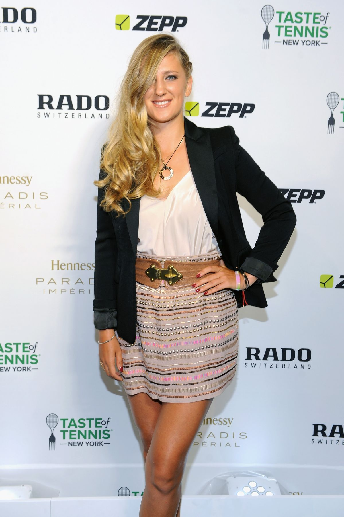 VICTORIA AZARENKA at Taste of Tennis Gala in New York