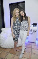 VICTORIA JUSTICE and PEYTON LIST at Bunk