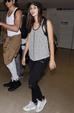 VICTORIA JUSTICE Arrives at LAX Airport in Los Angeles 08/29/2015