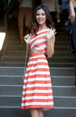 VICTORIA JUSTICE at People Stylewatch Party in New York 08/12/2015