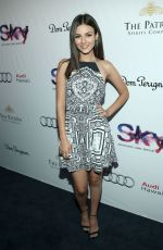 VICTORIA JUSTICE at Sky Waikiki Opening in Honolulu 08/28/2015