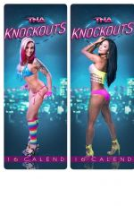 WWE - TNA Knockouts 2016 Calender Preview