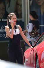 XENIA DELI Out and About in Los Angeles 08/28/2015