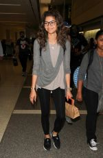 ZENDAYA COLEMAN Arrives at Los Angeles International Airport 08/28/2015