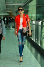 ZENDAYA COLEMAN at Heathrow Airport in London 08/08/2015