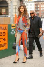 ZENDAYA COLEMAN Out and About in New York 08/06/2015