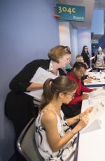 ZENDAYA Judging Once Upon a Costume Contest at Disney d23 Expo in Anaheim